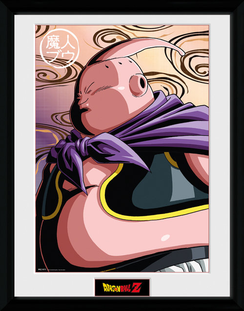 Dragon Ball Z Buu Framed Collector Print