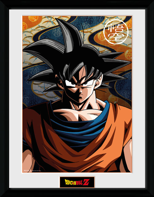 Dragon Ball Z Goku Framed Collector Print