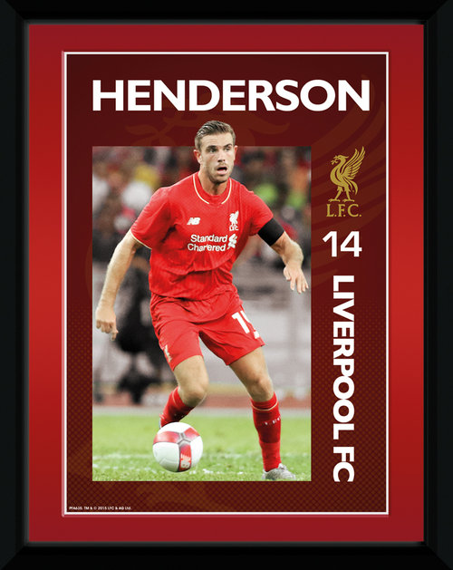 Liverpool Henderson 15/16 Framed Collector Print