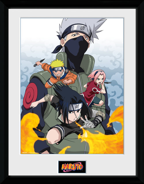 Naruto Fire Framed Collector Print