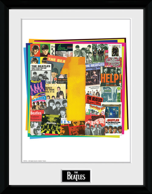 The Beatles No 1 Albums Framed Collector Print