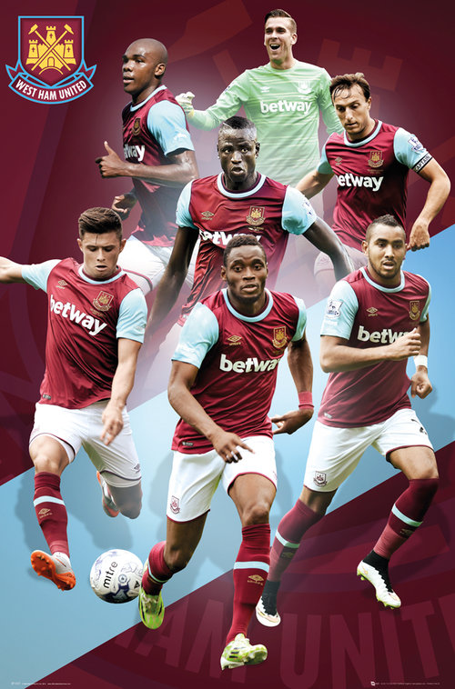 West Ham Players 15/16 Maxi Poster
