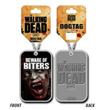 The Walking Dead Dog Tag Necklace - Beware Of Biters