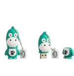 "Tribe Memory Stick ""The Green Dino"" 16GB"