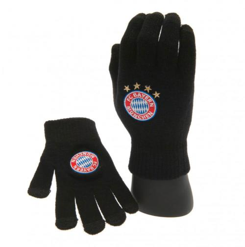 F.C. Bayern Munich Knitted Touch Screen Gloves Adult