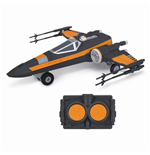 Star Wars Episode VII RC Vehicle with Sound & Light Up Poes X-Wing Fighter 26 cm