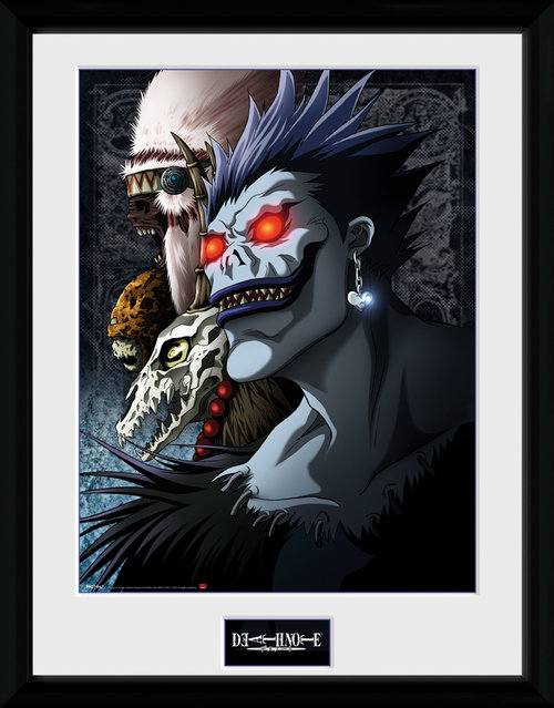 Death Note Shinigami Framed Collector Print