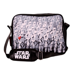 STAR WARS VII The Force Awakens Trooper Army Messenger Bag, Black