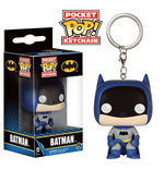 DC Comics Pocket POP! Vinyl Keychain 75th Anniversary Batman Blue 4 cm