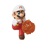Nintendo UDF Series 2 Mini Figure Fire Mario (New Super Mario Bros. U) 6 cm