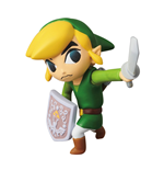 Nintendo UDF Series 1 Mini Figure Link (The Legend of Zelda: The Wind Waker) 6 cm