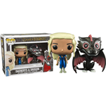 Game of Thrones POP! Vinyl Figures 2-Pack Daenerys & Drogon 10 cm