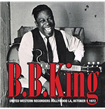 Vynil B.B. King - United Western Recorders Hollywood La, October 1 1972 (2 Lp)