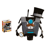Borderlands POP! Games Vinyl Figure Gentleman Claptrap Limited Edition 9 cm