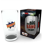 Big Bang Theory Pint Glass Bazinga