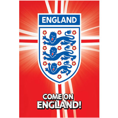 England F.A. Poster Crest RD
