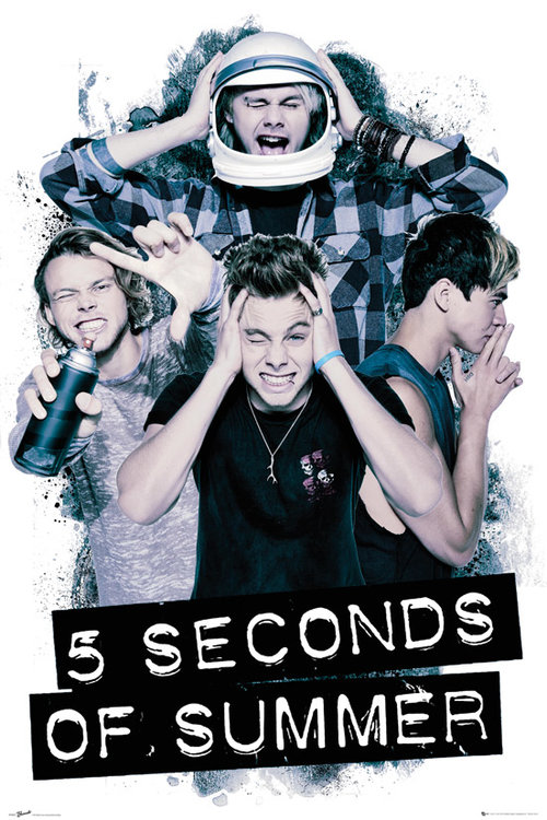 5 Seconds Of Summer Headache Maxi Poster