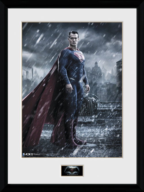 Batman Vs Superman Superman Framed Collector Print