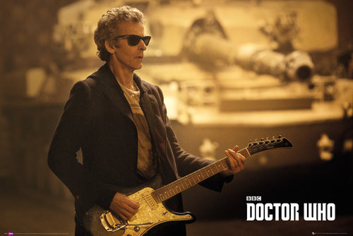 Doctor Who Guitar Landscape Maxi Poster