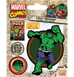 Marvel Comics Vinyl Sticker Pack Hulk (10)