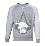 ASSASSIN'S CREED Syndicate Adult Male The Rooks Crew Neck Sweater, Extra Extra Large, Grey