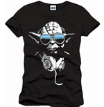 Star Wars T-shirt Cool Yoda Black