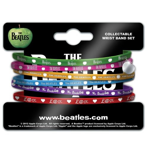 The Beatles Wristband Set - Apple