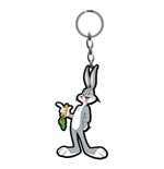 Looney Tunes Keychain - Bugs Bunny Rubber