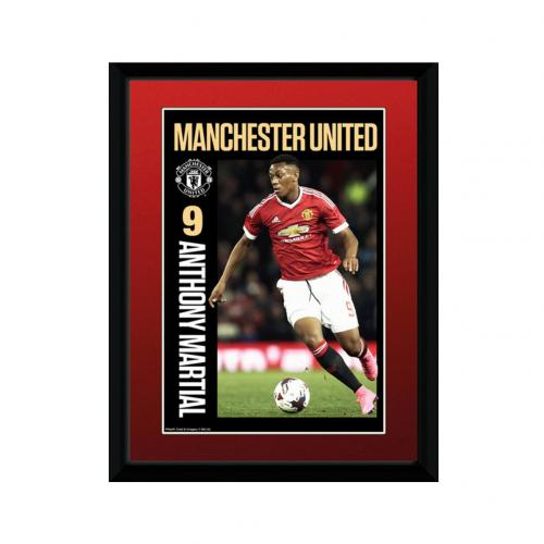 Manchester United F.C. Picture Martial 8 x 6