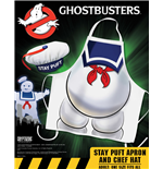 Ghostbusters Cooking Apron with Chef Hat Stay Puft