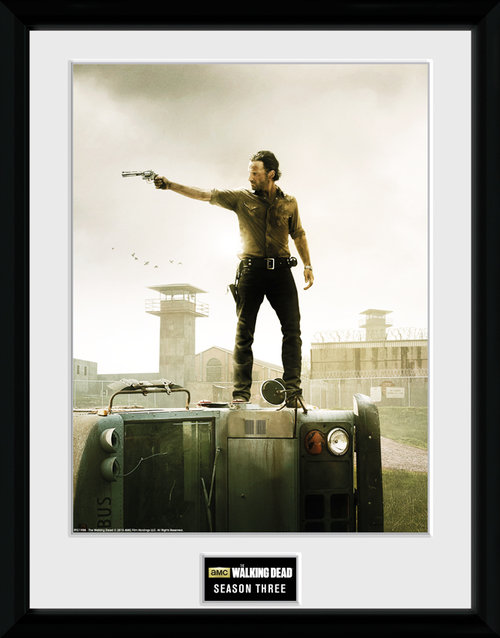 The Walking Dead Season 3 Framed Collector Print