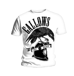 Gallows Men's Tee: Grey Britain