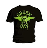 Green Day Men's Tee: Neon Black