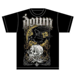 Down Men's Tee: Swamp Skull