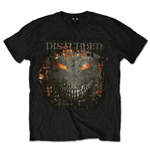 Disturbed Men's Tee: Fire Behind