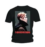 David Bowie Men's Tee: Low Portrait