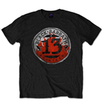 Black Sabbath Men's Tee: 13 Flame Circle