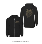 Black Sabbath Men's Hooded Top: Tour 78'