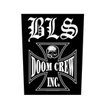 Black Label Society Back Patch: Doom Crew
