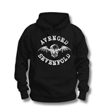 Avenged Sevenfold Men's Hooded Top: Logo