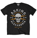 Asking Alexandria Men's Tee: Danger