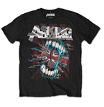 Asking Alexandria Men's Back Print Tee: Flag Eater