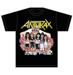 Anthrax Men's Tee: Euphoria Group Sketch