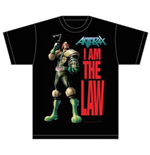 Anthrax Men's Tee: I am the Law