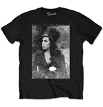 Amy Winehouse Men's Tee: Flower Portrait