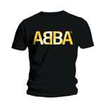 ABBA Men's Tee: Gold Logo