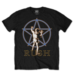 Rush Men's Tee: Star Man Glow