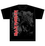 Iron Maiden Men's Tee: Hi Contrast Trooper