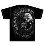 Iron Maiden Men's Tee: NOTB Grey Tone
