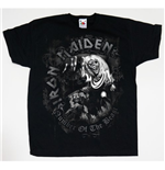 Iron Maiden Youth's Tee: Number of the Beast